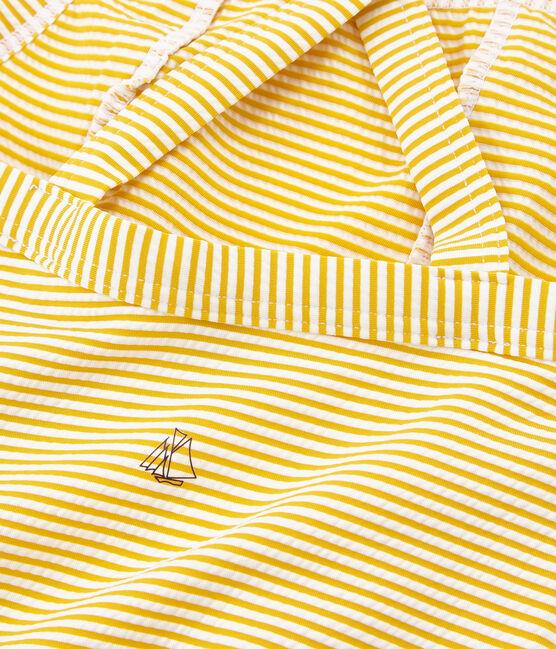 Traje de baño 1 pieza para niña amarillo Bamboo / blanco Marshmallow