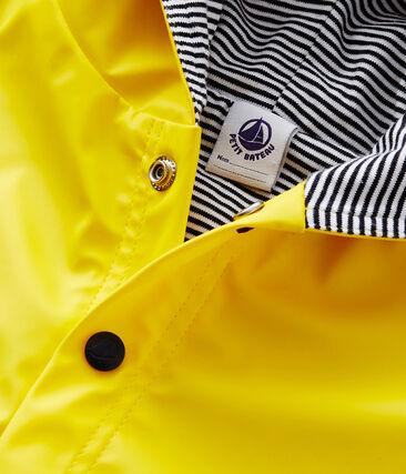 Capa de lluvia lisa para bebé unisex. amarillo Jaune