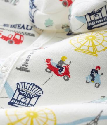 Conjunto de pijama y patucos para bebé niño