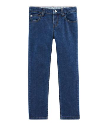 Pantalón vaquero de niño azul Denim Moyen