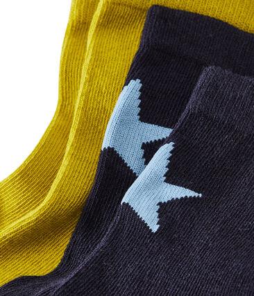 Lote de 2 pares de calcetines infantiles para niño