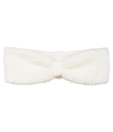 Cinta para bebé niña blanco Marshmallow