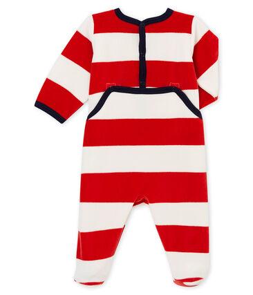 Pelele de noche para bebé niño rojo Terkuit / blanco Marshmallow