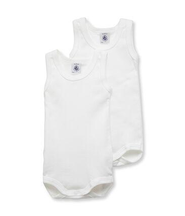 Par de bodis sin mangas para bebé niño