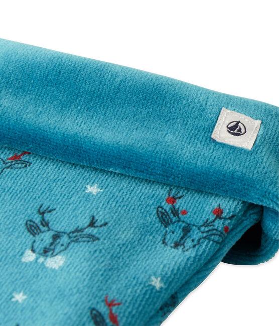 Calcetín de Navidad azul Contes / blanco Multico