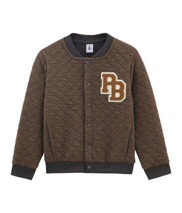 Teddy de niño marrón Cocoa / gris City:city