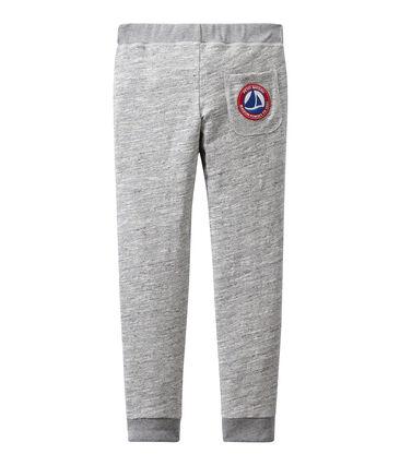 Pantalón en jersey tupido para niño