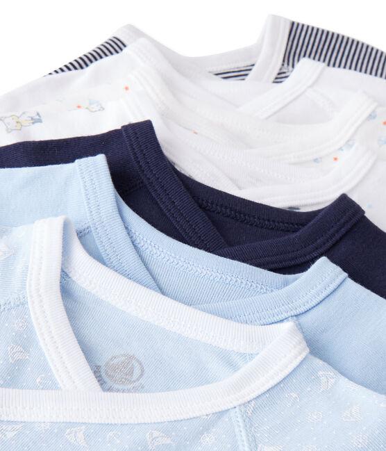 Bolsita sorpresa de 7 bodis de nacimiento de manga larga para bebé niño lote .