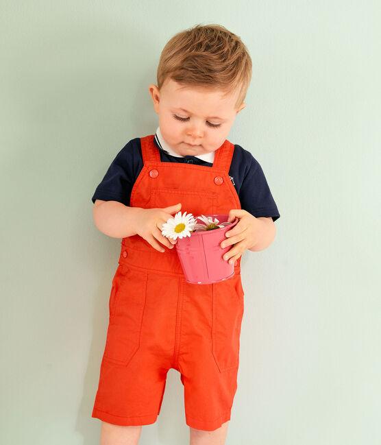 Peto corto de para bebé niño naranja Spicy