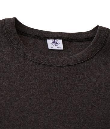 Camiseta de manga larga icónica de mujer gris City Chine