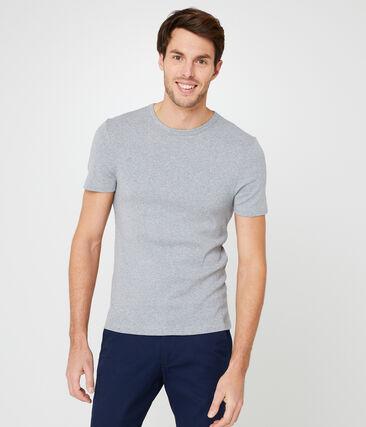 Camiseta para hombre gris Subway