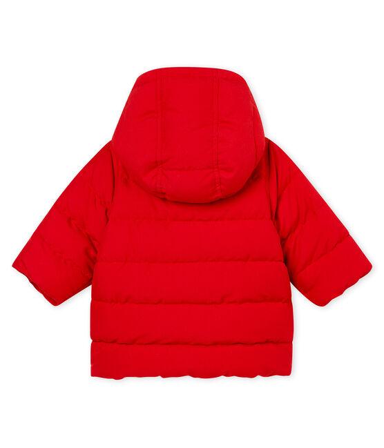 Doudoune de microfibra para bebé niña rojo Terkuit