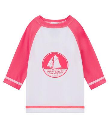Camiseta manga larga de protección solar para bebé unisex