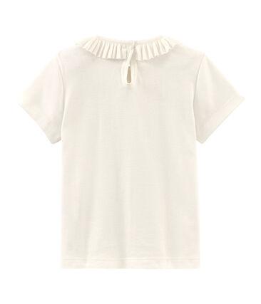 Camiseta manga corta infantil para niña