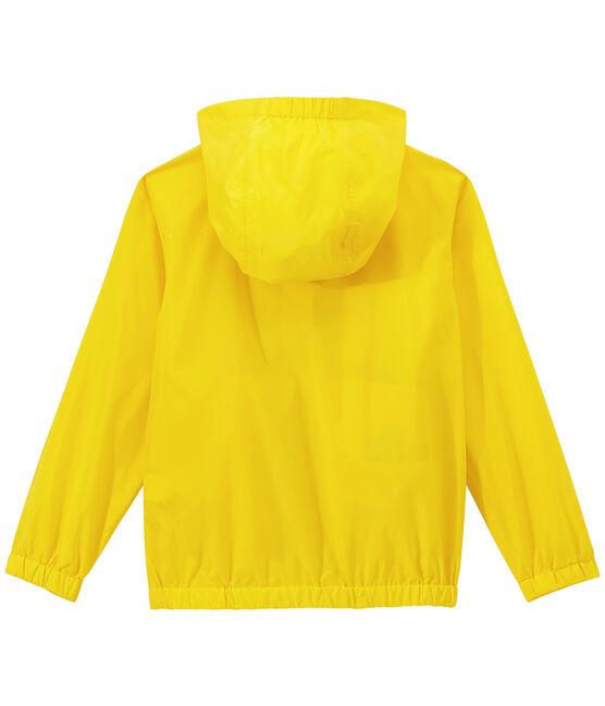 Corta viento infantil milrayas amarillo Jaune