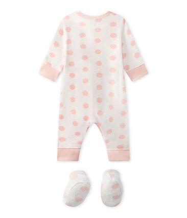 Pijama sin pies para bebé niña