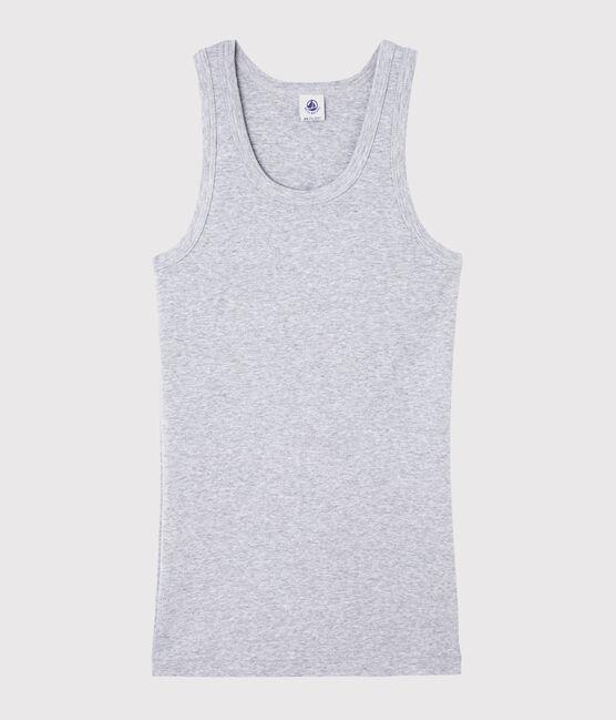 Camiseta de tirantes icónica para mujer gris Beluga