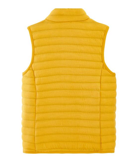 Chaleco anorak de túbico para mujer amarillo Boudor