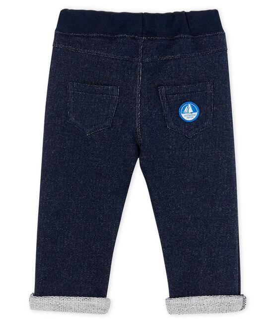 Pantalón de muletón para bebé niño SMOKING