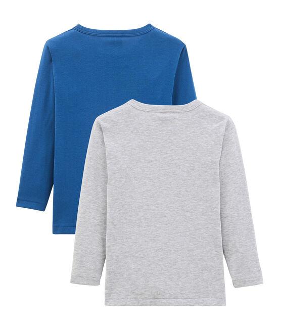 Par de camisetas manga larga para niño lote .