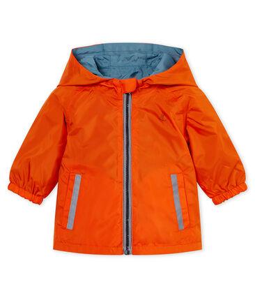 Cortavientos reversible para bebé niño naranja Carotte / azul Fontaine