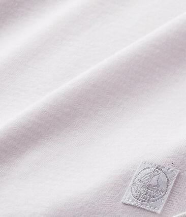 Arrullo bebé mixto en milrayas rosa Vienne / blanco Ecume