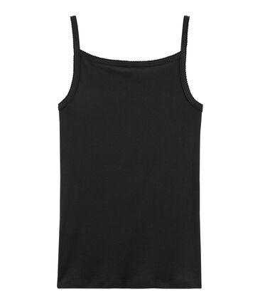 Camisa con tirantes de mujer negro Noir