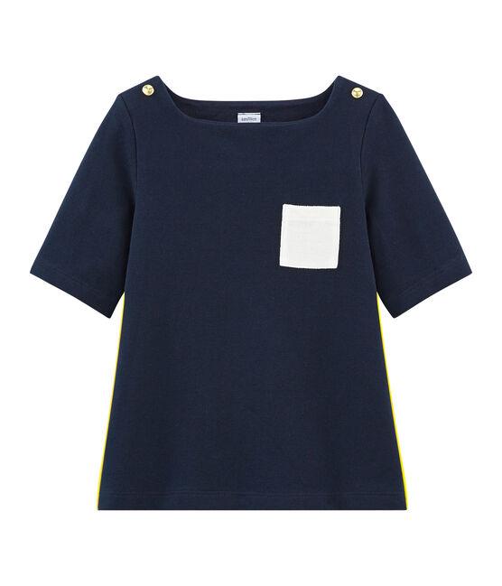 Camiseta con mangas 3/4 infantil para niña SMOKING