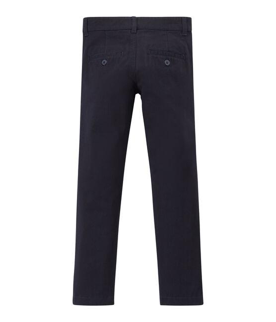 Pantalón de niño azul Smoking