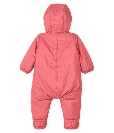 Buzo para bebé unisex rosa Cheek