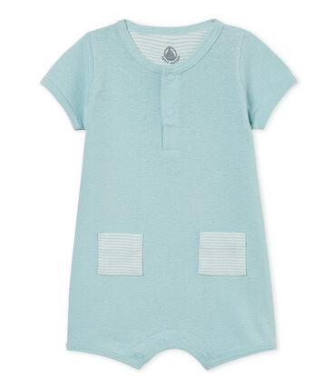 Mono corto de algodón/lino para bebé niño