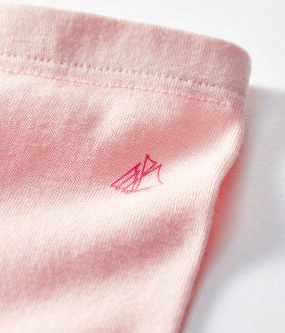 Leggings para bebé niña rosa Minois