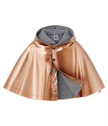 Capa de lluvia lisa para bebé unisex.