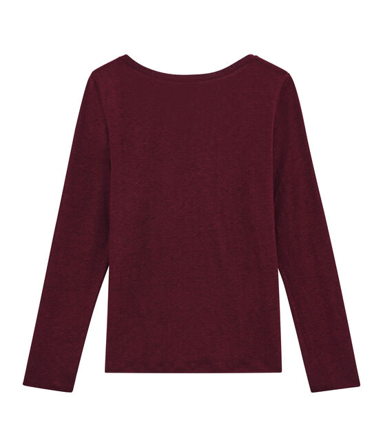 Camiseta de manga larga para mujer rojo Ogre / amarillo Dore
