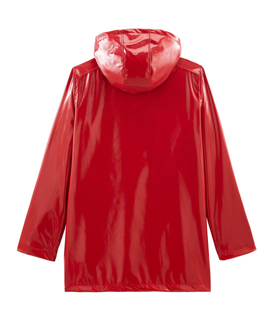 Impermeable para mujer rojo Terkuit