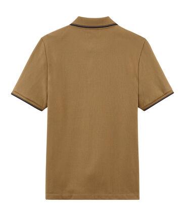 Polo para hombre marrón Brindille