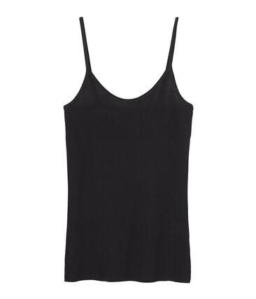 Camisa de tirantes de algodón ligero para mujer