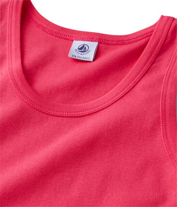 Camiseta sin mangas para mujer en punto original