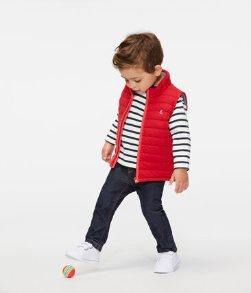 Chaleco para bebé niño rojo Terkuit