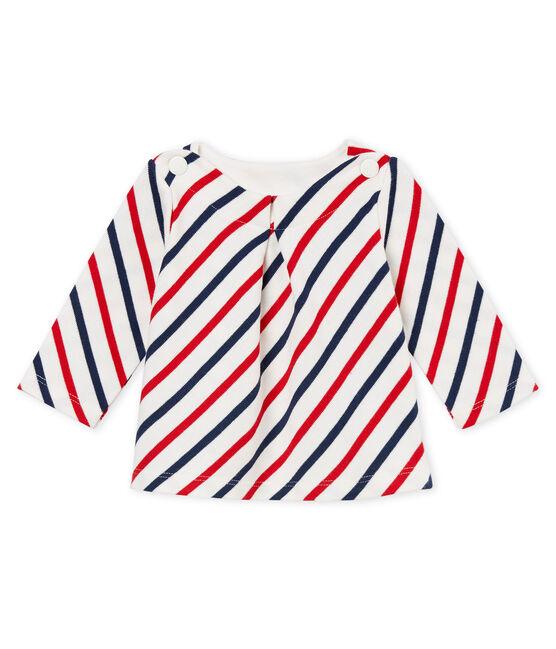 Jersey marinero para bebé niña blanco Marshmallow / blanco Multico