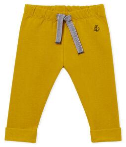 Pantalón de muletón ligero liso para bebé niño