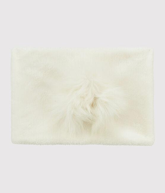 Cuello infantil para niña blanco Marshmallow