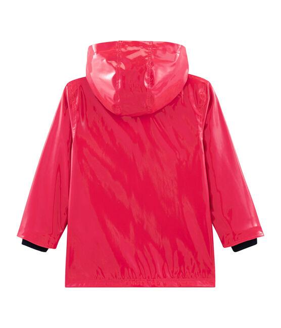 Impermeable reforzado para niña rojo Signal