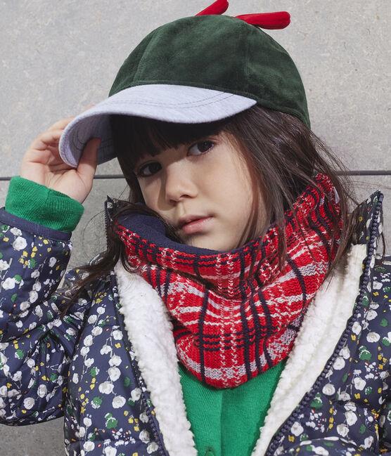Gorra infantil para niña verde Sousbois