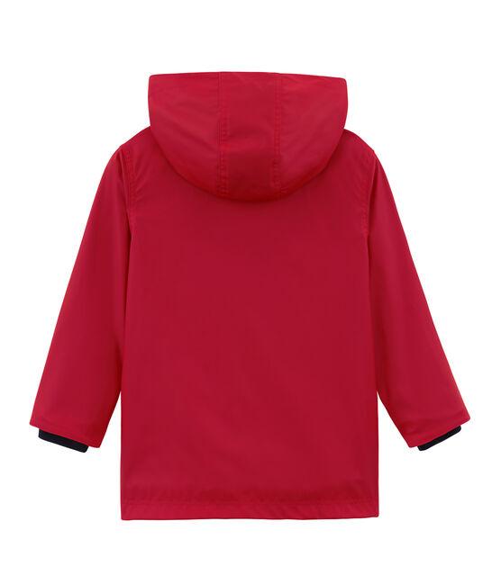 Impermeable infantil unisex rojo Terkuit