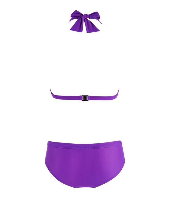 Traje de baño de 2 piezas ecorresponsable para mujer violeta Real