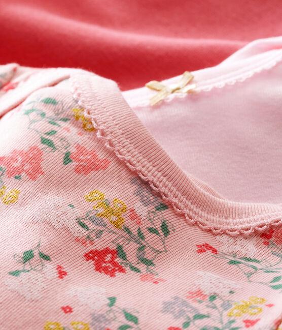 Trio de bodis de manga larga para bebé niña lote .