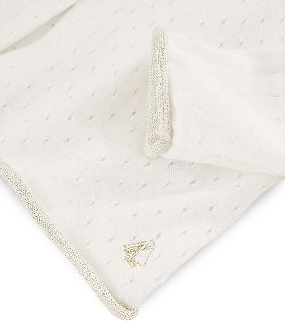 Cárdigan de niña blanco Marshmallow