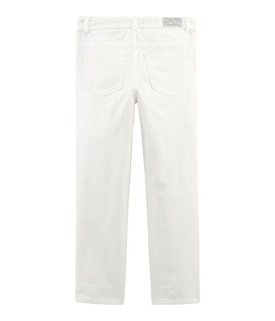 Pantalón de niño blanco Marshmallow