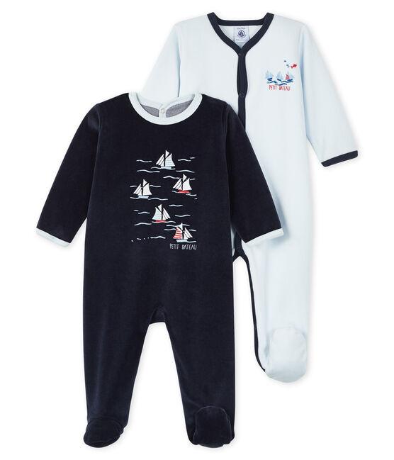 Lote sorpresa de 2 pijamas enterizos para bebé lote .